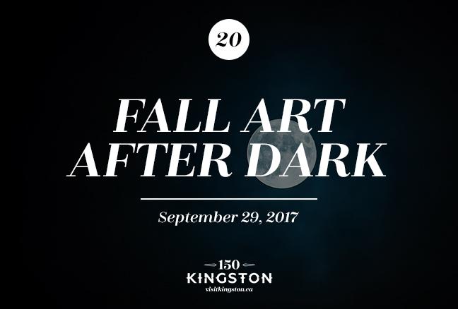 Fall Art After Dark - September 29