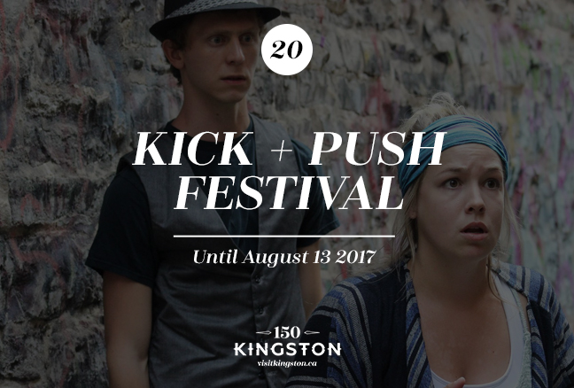 The Kick and Push Festival – Until August 13