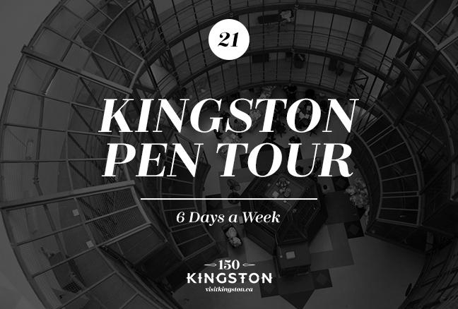 Kingston Pen Tour - 6 Days a Week