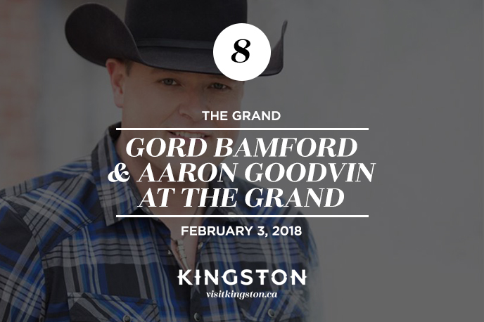 Gord Bamford and Aaron Goodvin at The Kingston Grand Theatre