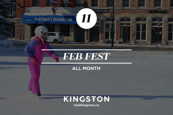 25 Things to do in Kingston Feb Fest