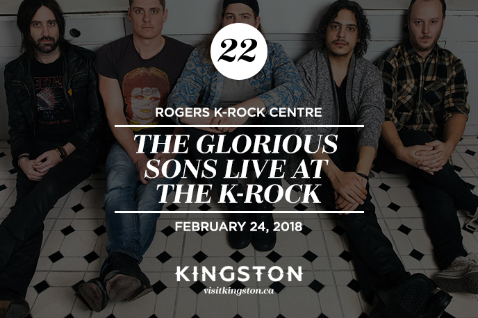 The Glorious Sons live at the K-Rock Centre