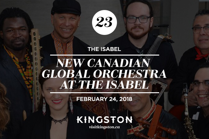 New Canadian Global Orchestra at The Isabel