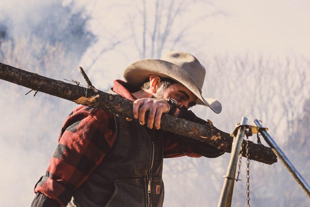 The Lumberjack at MacLachlan Woodworking Museum