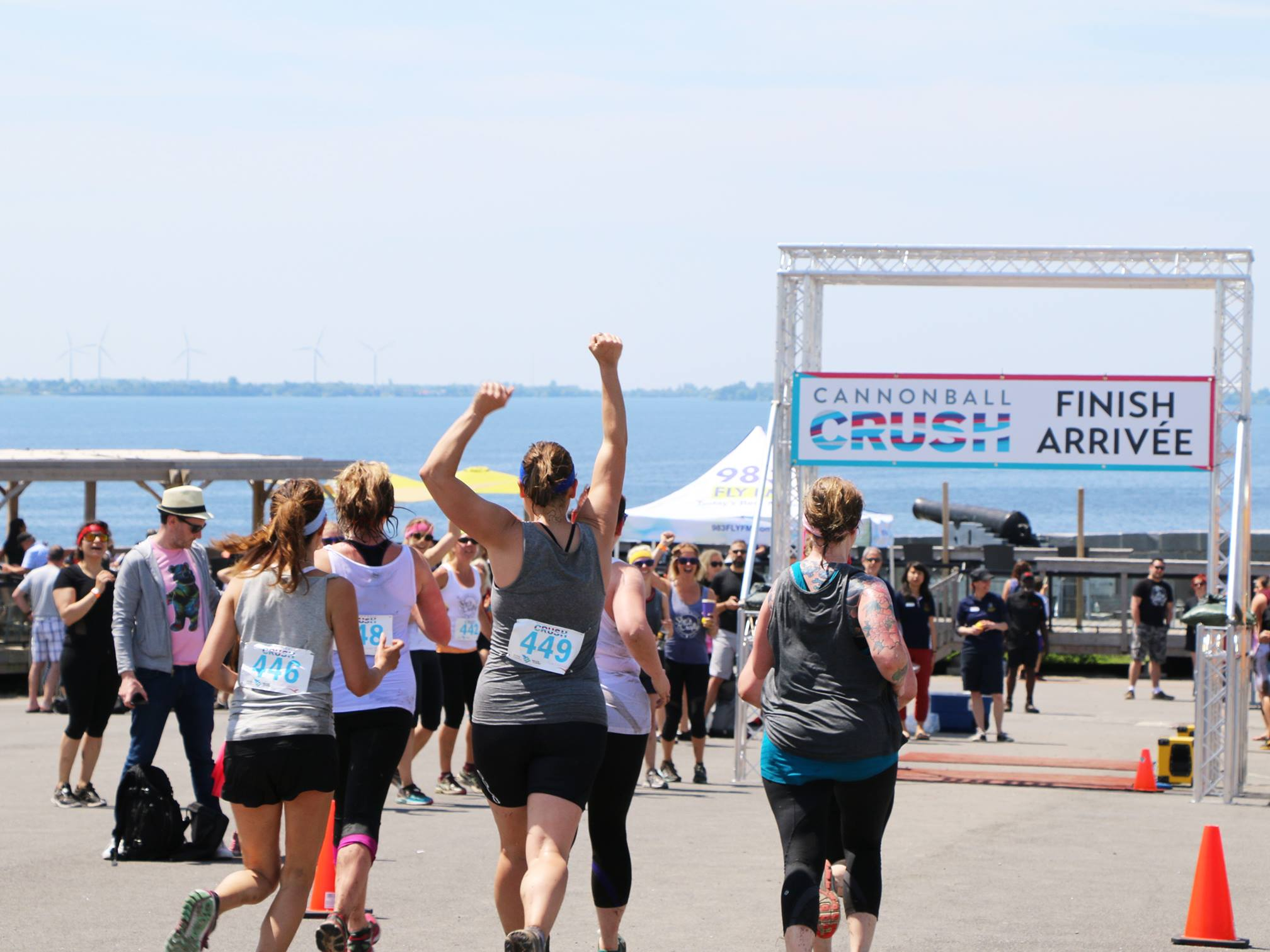 Cannonball Crush 2018 at Fort Henry