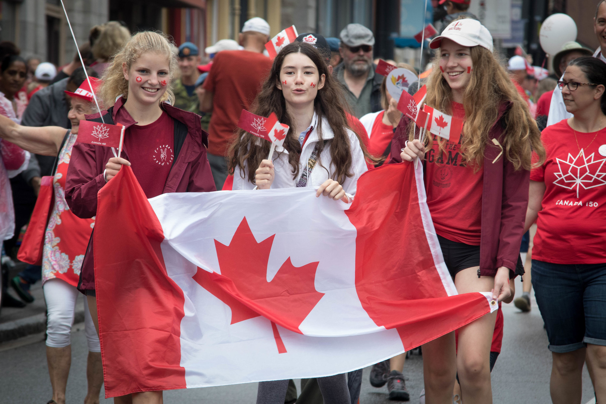 Canada Day Celebrations in Downtown Kingston
