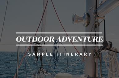 Outdoor Adventure - Sample Itinerary