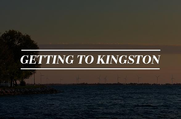 Getting to Kingston