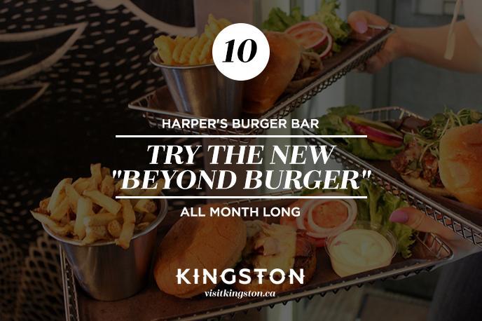 New burger at Harper's Burger Bar
