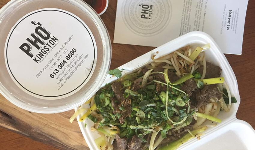 West End Pho Kingston take out