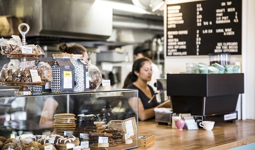Juniper Cafe counter