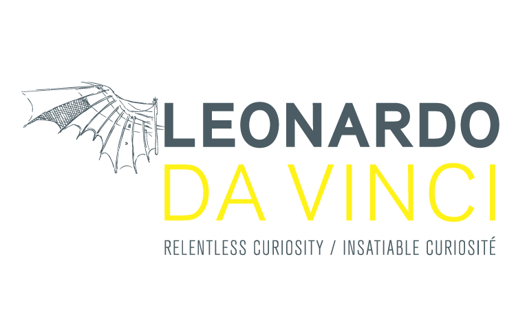 Leonardo da Vinci Relentless Curiosity exhibit at the PumpHouse